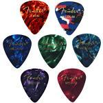 Fender 351 Celluloid Picks - 12 Packs