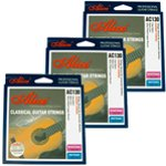 Classical Guitar Strings - Normal Tension Nylon Strings - Pack of 3
