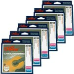Classical Guitar Strings - Normal Tension Nylon Strings - Pack of 6