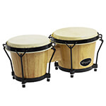 Natural Bongo Drum Set