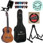 Valencia 3/4 Size Kids Classical Guitar with Strings, Tuner, Plectrums and Deluxe Bag