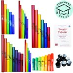 Boomwhacker Complete Set with Song Book - Totally Tubular & Teaching
