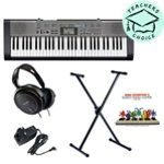 Casio CTK-1300 Portable Keyboard Pack with Easiest Piano Course Book 1