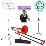 pBone Bb Trombone Pack - Including Music Stand, Book and Instrument Stand