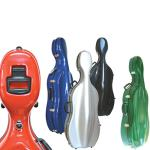 Sinfonica Fibreglass Cello Case w/Wheels