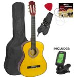 Childrens Classical Guitar Kids Pack 4/4 Size with Free Tuner