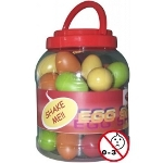 Stagg Plastic Egg Shaker Box - 40 Piece