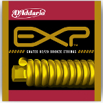 D\\'\\'Addario EXP Coated 80/20 Bronze Wound Acoustic Guitar Strings