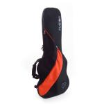 Funksion Electric Guitar Bag in Orange and Black with 10mm Foam Padding