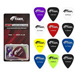 Tiger Gels Guitar Plectrums (Pack of 12)