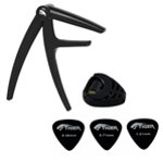 Tiger Guitar Capo for Electric & Acoustic Guitar & Plectrums Pack