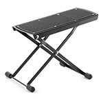 Tiger Adjustable Folding Guitar Footstool - Black