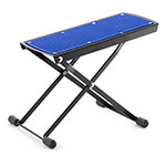 Tiger Adjustable Folding Guitar Footstool - Blue