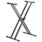 Stagg Q Series Double Braced X style Keyboard Stand