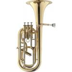 Levante by Stagg 4 - Valve Baritone Outfit in Clear Lacquer Finish