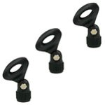 Tiger Pack of 3 Universal Microphone Clips - Quick Release