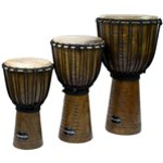 World Rhythm Jammer Tribal Natural Djembe Drums