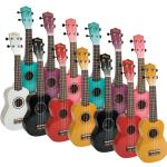 Music Plus Digital Ukulele Pack - 30 Vibrant Coloured Soprano Ukuleles