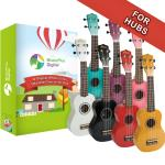 Music Plus Digital Hub Ukulele Pack - Including 30 Ukuleles & 1 Year Subscription for Music Hubs