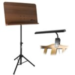 Tiger Wooden Orchestral Sheet Music Stand and Music Light Package