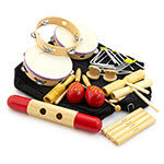 World Rhythm Percussion Set - Classroom Percussion Kit