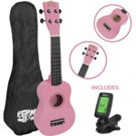Mad About Beginner Soprano Ukulele in Purple with FREE Uke Bag & Tuner