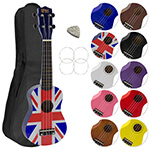 Mad About Soprano Ukulele Colour - Union Jack