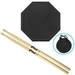 Tiger Drum Practice Pad with FREE Drum Sticks