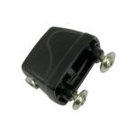 Drum Lug (Gap Between Screws: 23 mm) in Black