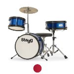 Stagg 3 Piece Junior Drum Kit - 12\