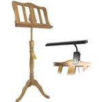 Theodore Baroque Style Oak Wooden Music Stand & Music Stand Light Pack