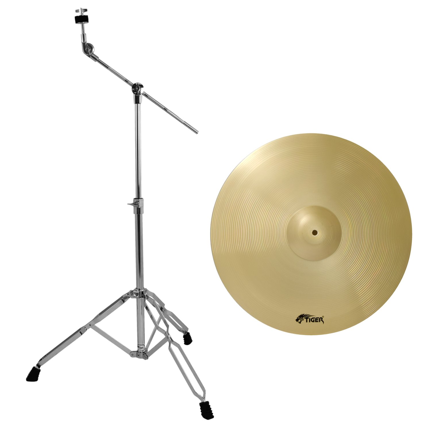 tiger ride cymbal stand package ebay. Black Bedroom Furniture Sets. Home Design Ideas