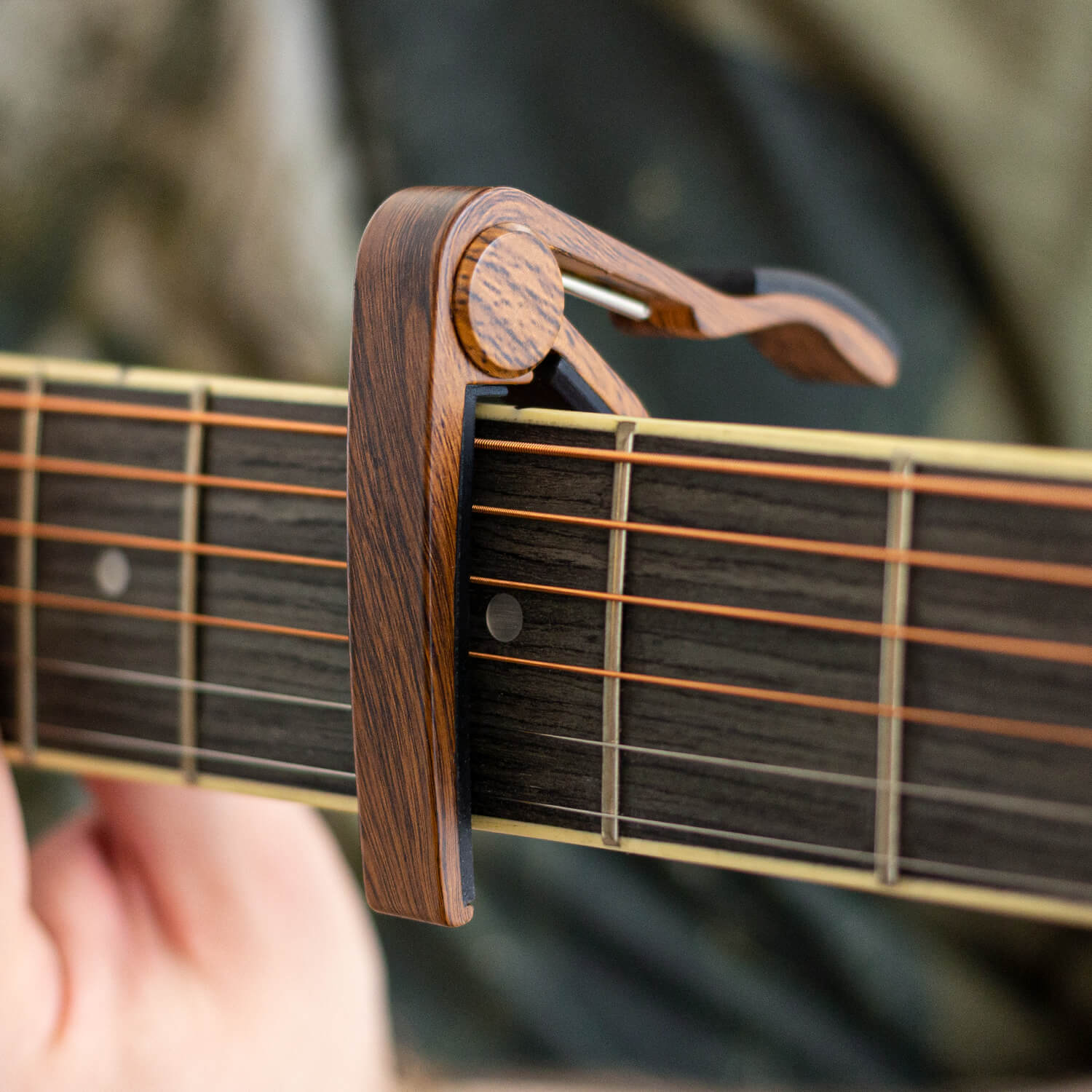 tiger guitar capo clamps trigger capo for acoustic electric ebay. Black Bedroom Furniture Sets. Home Design Ideas