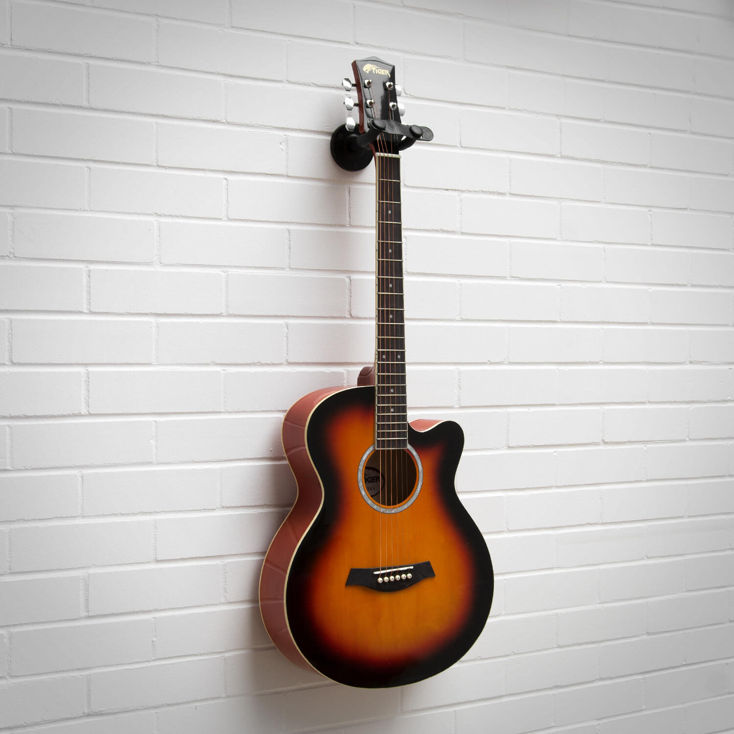 Tiger Guitar Wall Hanger - 3 Pack - Electric/Acoustic/Classical/Bass - 5