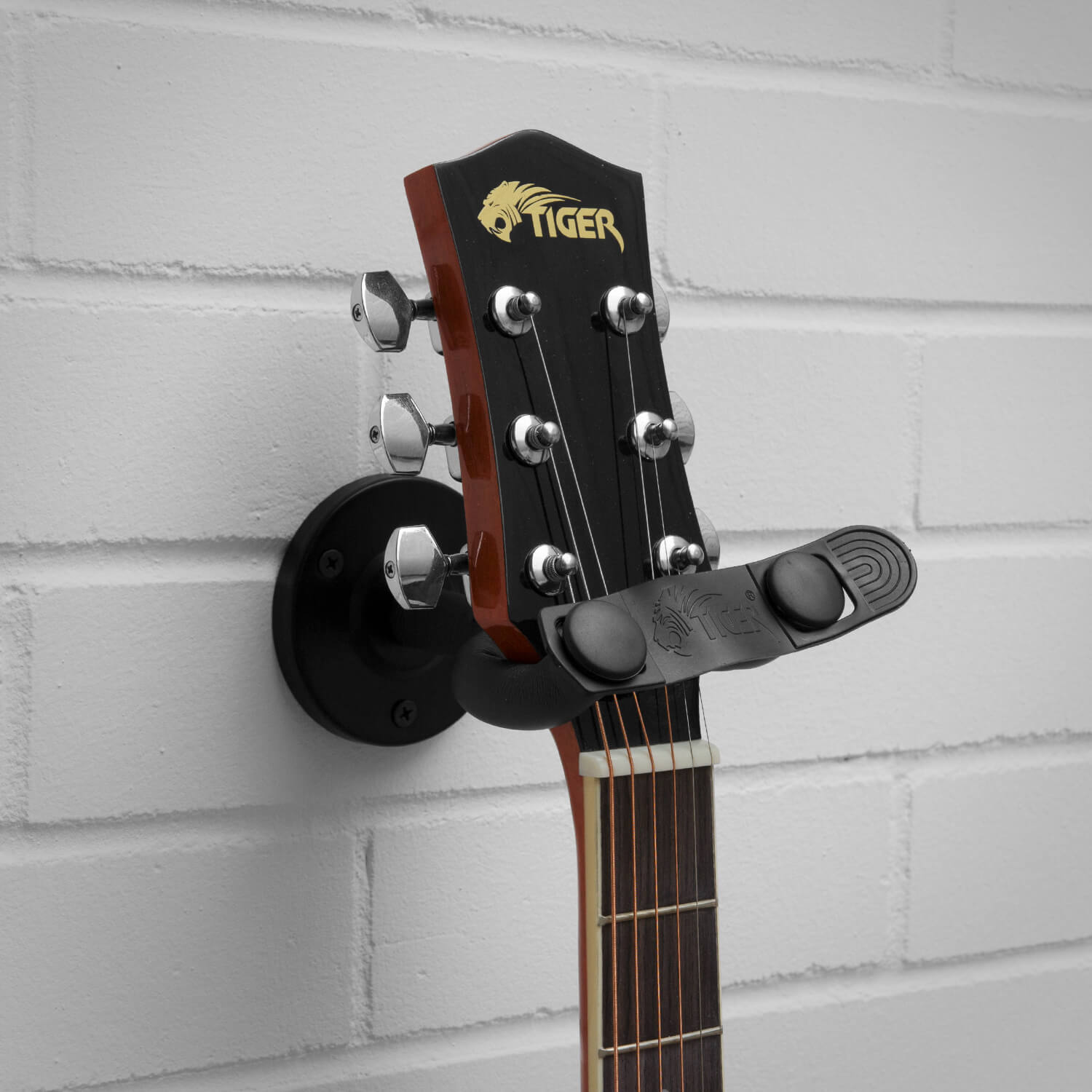 Tiger Guitar Wall Hanger - 3 Pack - Electric/Acoustic/Classical/Bass - 6