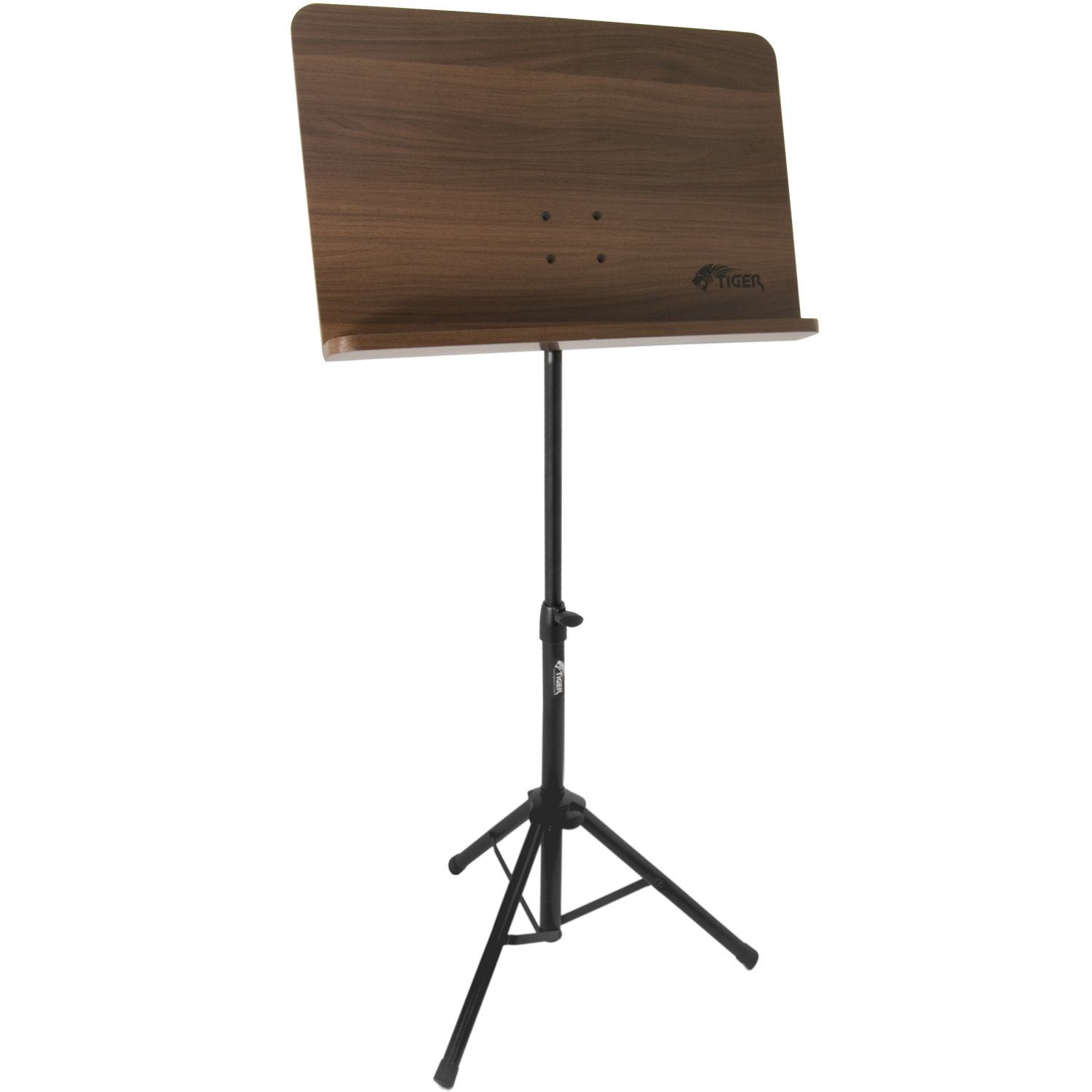Wooden Conductor Sheet Music Stand Adjustable Foldable Tripod . Full resolution  snapshot, nominally Width 1500 Height 1500 pixels, snapshot with #654533.