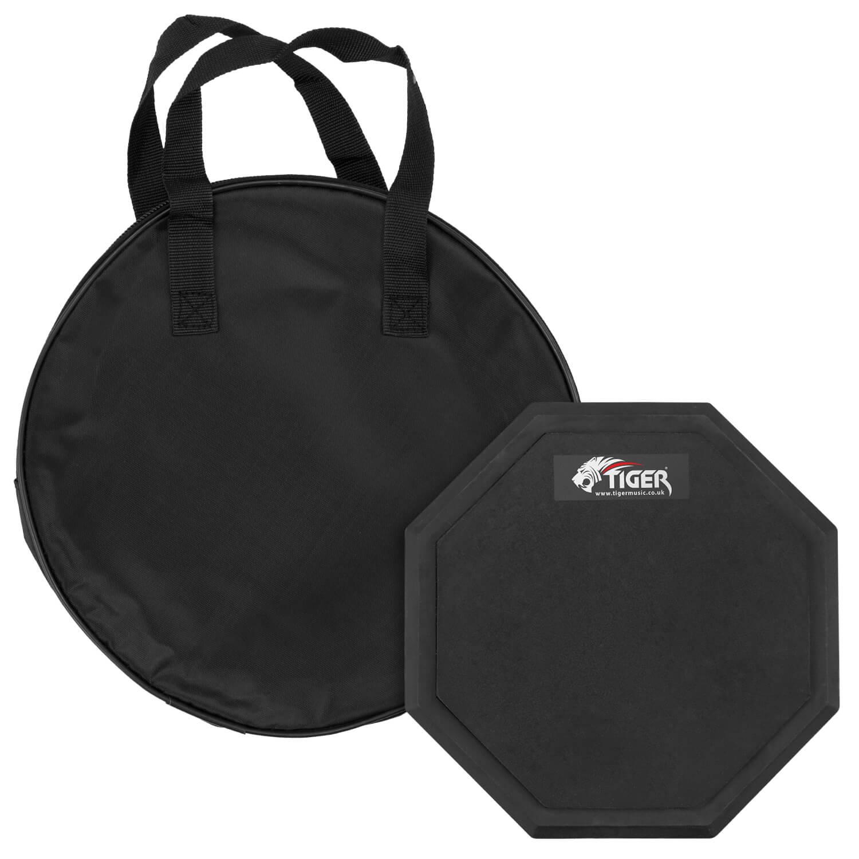 tiger 8 drum practice pad ebay. Black Bedroom Furniture Sets. Home Design Ideas