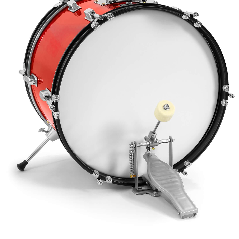 tiger junior drum kit for kids 5 piece childs drum set with stool ebay. Black Bedroom Furniture Sets. Home Design Ideas