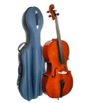 Stentor Student I Cello 4/4 Size Outfit with Blue Semi-Rigid Case