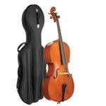Stentor Student II Cello 4/4 Size Outfit with Black Semi-Rigid Case
