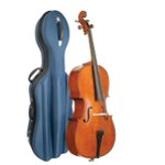 Stentor Student II Cello 4/4 Size Outfit with Blue Semi-Rigid Case