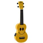Mahalo Yellow Kohiko Smile Electric Ukulele
