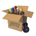 24 Pack of Mahalo Ukulele\\'\\'s - Mixed Colours