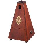 Wittner Wooden Pyramid \\'\\'Matte Mahogany\\'\\' Metronome - CLEARANCE DEAL