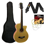 Acoustic Guitar in Natural - Small Body Cutaway