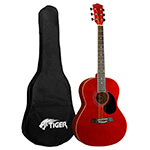 Tiger Original Acoustic Guitar in Red