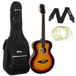 Tiger Sunburst Acoustic Guitar Package with Padded Bag