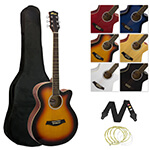 Tiger Acoustic Guitar for Students - Sunburst