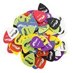 Tiger Guitar Picks - Pack of 100 - Variety of Gauges & Colours