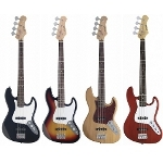 Stagg Standard \\'\\'Jazz\\'\\' Electric Bass Guitars
